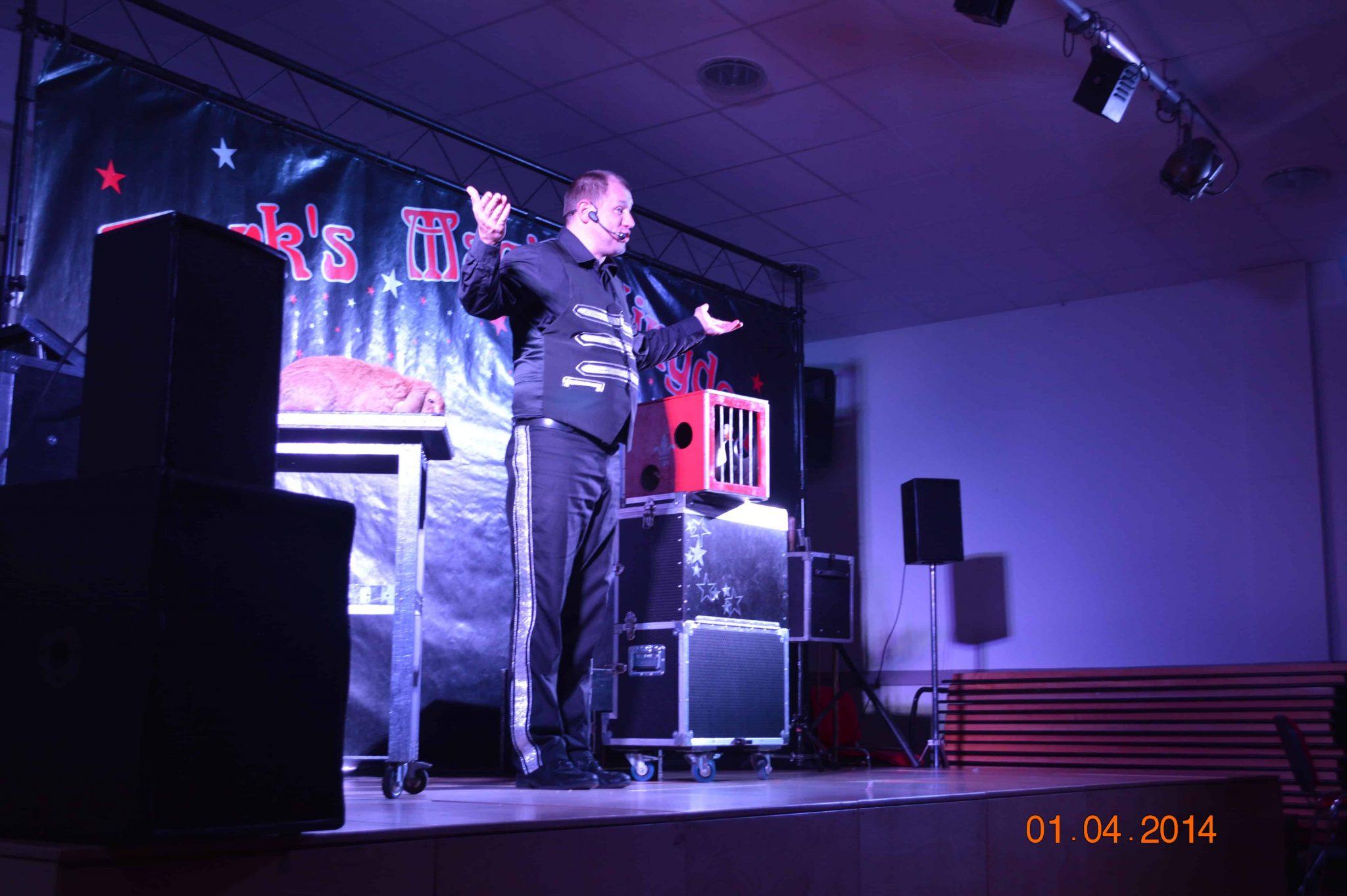 magic show for schools