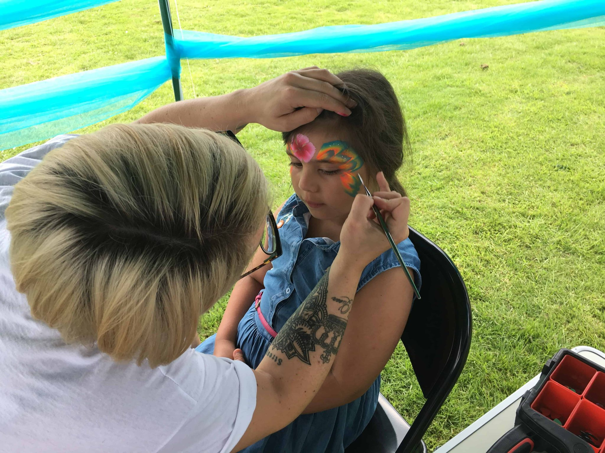 Face painting Yorkshire