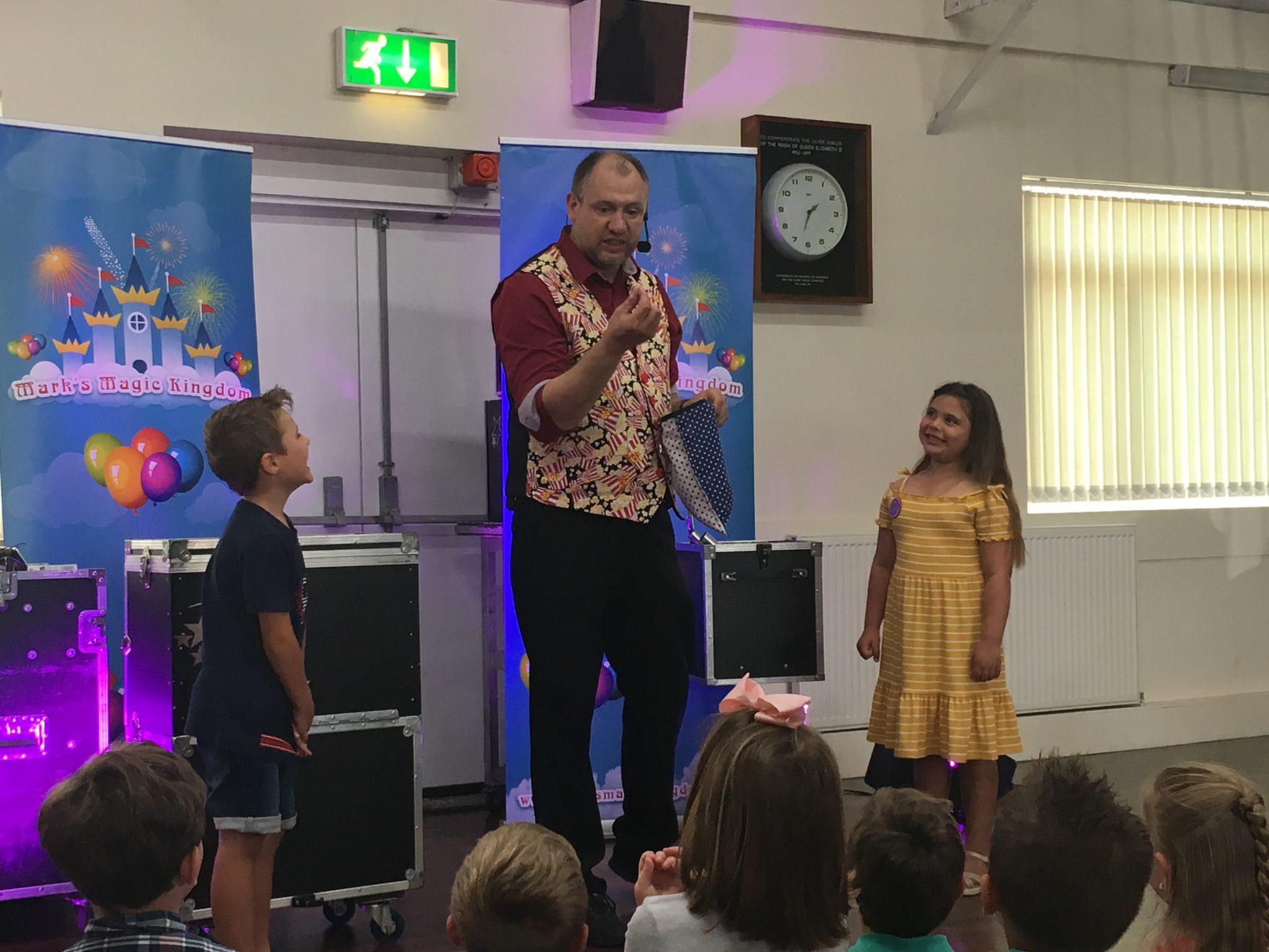 Children's entertainer Bradford
